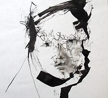 Sumi Ink Painting by Hannah Mickunas