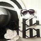 ....black and white........summer story......... by Jane Anastasia Studio