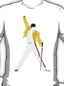 Freddie Mercury Minimal Design T-Shirt