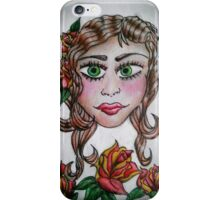Gypsy Tattoo _ Roses iPhone Case/Skin