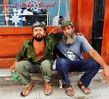 Che and Fidel  by nuniatko