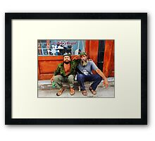 Che and Fidel  Framed Print
