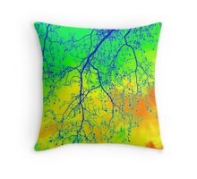London Winter Throw Pillow