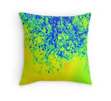 branches- Winter in London Throw Pillow