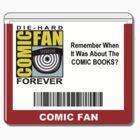 Comic-Fan Badge by GeekPunk