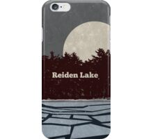 Reiden Lake (fringe) iPhone Case/Skin