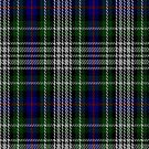 02356 Davidson of Tulloch Dress Clan/Family Tartan Fabric Print Iphone Case by Detnecs2013