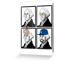 G Dub in the House Greeting Card
