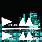 Depeche Mode : Delta Machine Paint cover - Invert by Luc Lambert