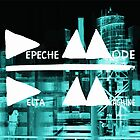 Depeche Mode : Delta Machine Paint cover Invert square by Luc Lambert