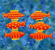 Six Fish by Julie Nicholls