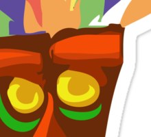 Aku Aku - Crash Bandicoot. Sticker