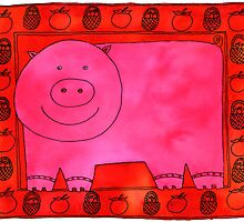 Pig and Apples by Julie Nicholls