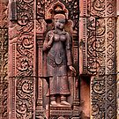 Carvings of Banteay Srei, III by Vladimir Rudyak