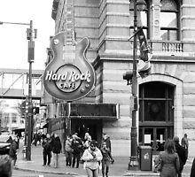 Hard Rock Cafe, Philadelphia by Jip van Kuijk