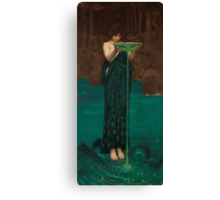 John William Waterhouse - Circe Invidiosa Canvas Print