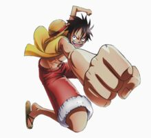 Luffy one piece by VirtualMan