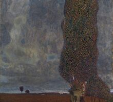 Gustav Klimt - Approaching Thunderstorm by TilenHrovatic