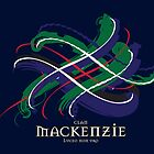 Clan MacKenzie Tartan Twist by eyemac24