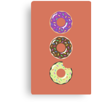Heaven ( Better Known as Multiple Donuts ) Canvas Print