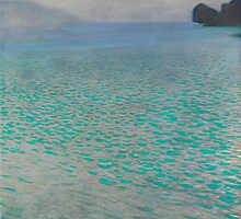 Gustav Klimt - Attersee by TilenHrovatic
