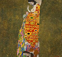 Gustav Klimt - Hope, II by TilenHrovatic