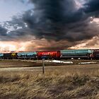 Canadian Pacific Railway by Mindy McGregor