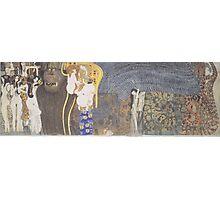 Gustav Klimt - Beethoven Frieze Photographic Print