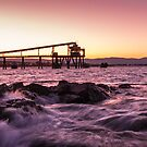 Bass Point, NSW, Australia - Late sunset by Stephen  Jarrett