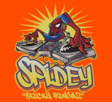 SPIDEY: Sticky Fingaz by KERZILLA