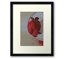 Strawberry Days Framed Print