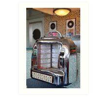 Jukebox Time Art Print