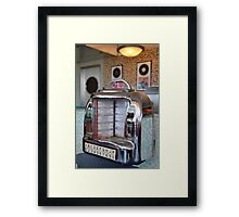 Jukebox Time Framed Print