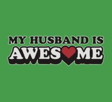 My Husband Is Awesome Valentines by CarbonClothing