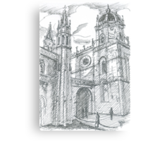 afternoon at Jerónimos Monastery Canvas Print