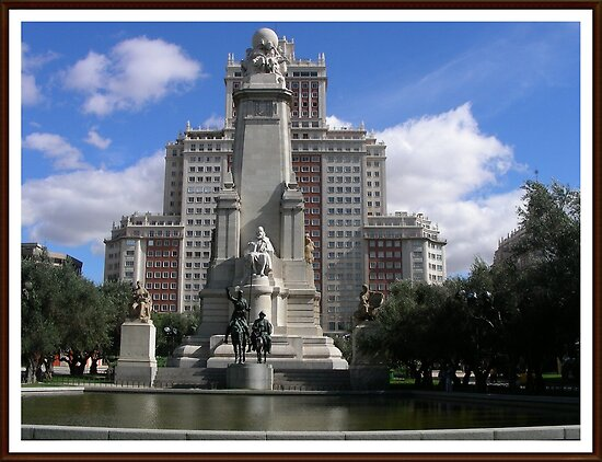 Plaza España...... by cieloverde