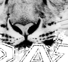 Leopard - Crazy Kids Sticker
