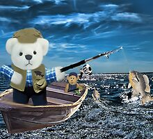 <º))))>< GOOD THINGS COME TO THOSE WHO BAIT-BEARS FISHING VACATION <º))))><  by ✿✿ Bonita ✿✿ ђєℓℓσ
