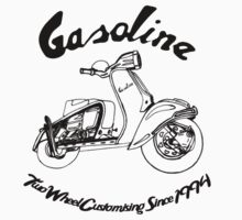 Gasoline Scooter by GASOLINE DESIGN