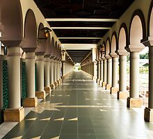 Islamic Center of Samarinda Alleyway by PutroGraph