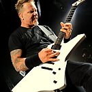 James Hetfield of Metallica by Stuart Blythe