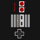 NES Controller iPhone Cover/Case by Harry Martin