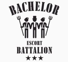 Bachelor Escort Battalion (Stag Party / Black) by MrFaulbaum