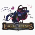 League of Legends - Lulu and Veigar (Old Logo) by falcon333
