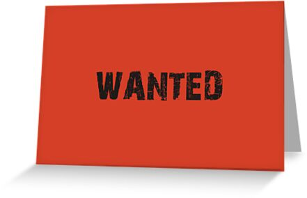 WANTED by Vana Shipton