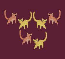 Falling Cats  T-Shirt
