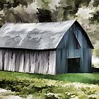 Southwest Wisconsin Barn Painted by Thomas Young