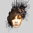Rihanna by Brigitta Frisch