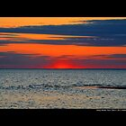 Long Island Sound Horizon After Sunset - Stony Brook, New York  by  Sophie Smith