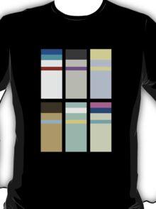 Friendship is Magic - Minimalism (Background Ponies) T-Shirt